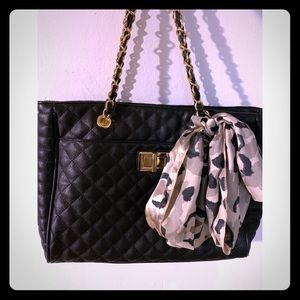 ALDO quilted tote